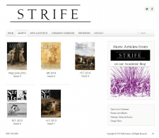 Сайт периодического академического журнала